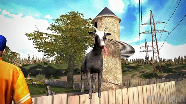 模拟山羊游戏截图1