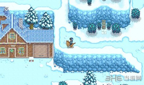 星露谷物语反巫师塔旁边森林进去攻略指南1
