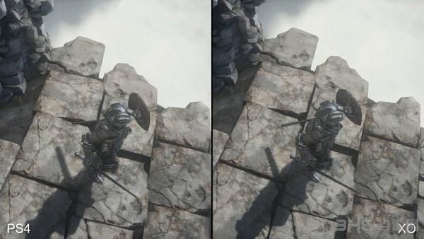 黑暗之魂3画面对比视频截图3