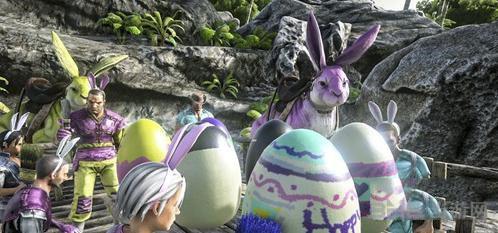 方舟生存进化复活节活动中的兔子蛋用途详解1