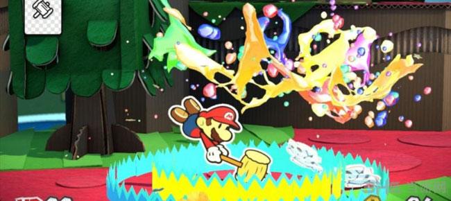 纸片马里奥色彩喷涂ColorSplash游戏截图1