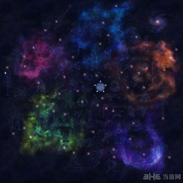 恐怖黎明星座点1