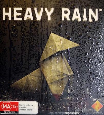 暴雨游戏封面