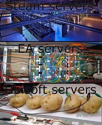 土豆服务器梗