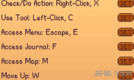 星露谷物语操作按键方法介绍 具体怎么操作 1