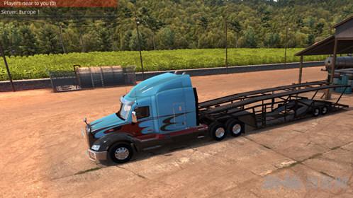 美国卡车模拟ATS车辆运输车MOD截图0