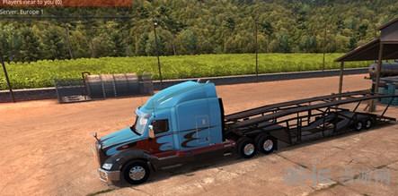 美国卡车模拟车辆运输车MOD截图0