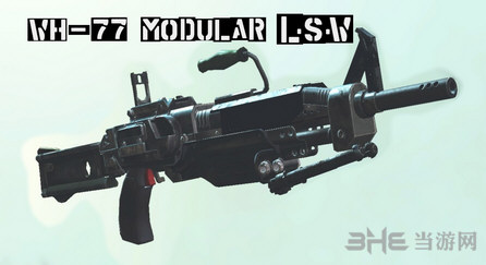 辐射4 WH-77 LSW机枪MOD截图0