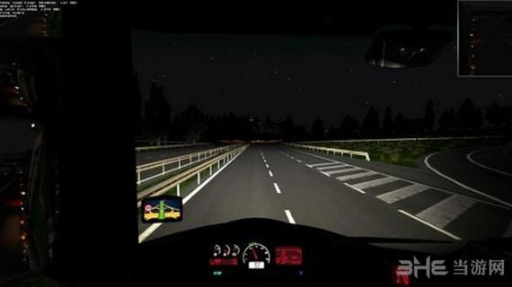 欧洲卡车模拟2真实亮灯光mod截图0