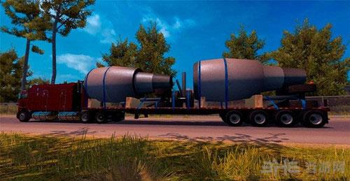 美国卡车模拟特大型美国拖车MOD截图0