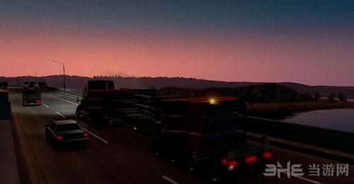 美国卡车模拟特大型美国拖车MOD截图1