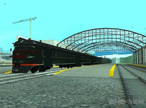 侠盗猎车手圣安地列斯铁路增多MOD截图0