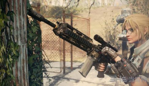 辐射4 scar-lk突击步枪MOD截图0