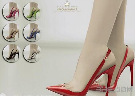 模拟人生4红色高跟鞋MOD截图0