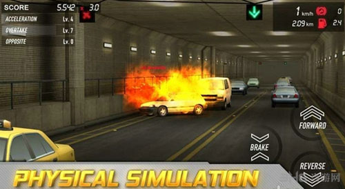 街头飞车3D电脑版截图2