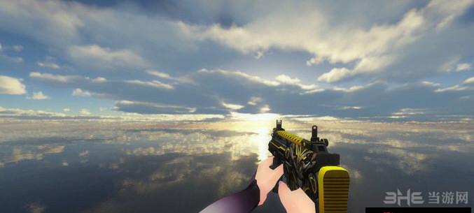 求生之路2复仇者MP7冲锋枪MOD截图1