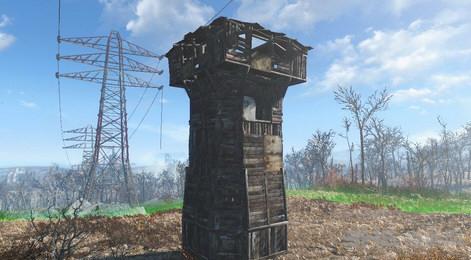 辐射4新增塔屋MOD截图2