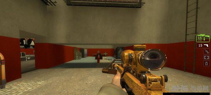 求生之路2黄金巴雷特M82狙击枪MOD截图0