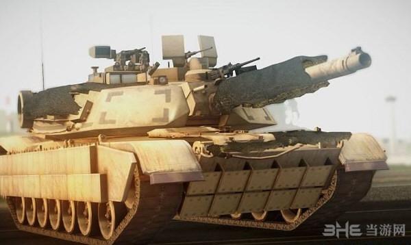 侠盗猎车手圣安地列斯M1A2坦克MOD截图0