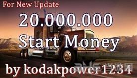 美国卡车模拟初始2000万金钱MOD截图0