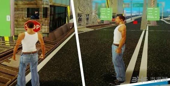 侠盗猎车手圣安地列斯大桥收费站MOD截图0