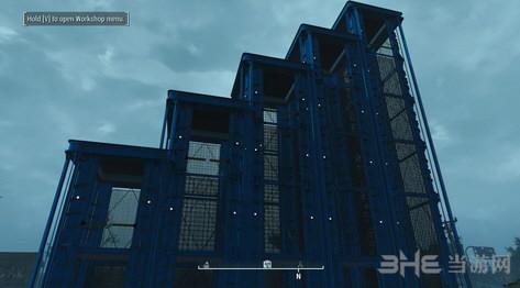 辐射4可建造的避难所笼式电梯MOD截图0