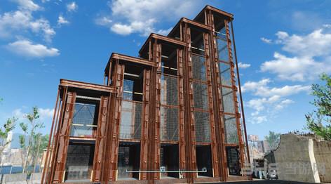 辐射4可建造的避难所笼式电梯MOD截图1