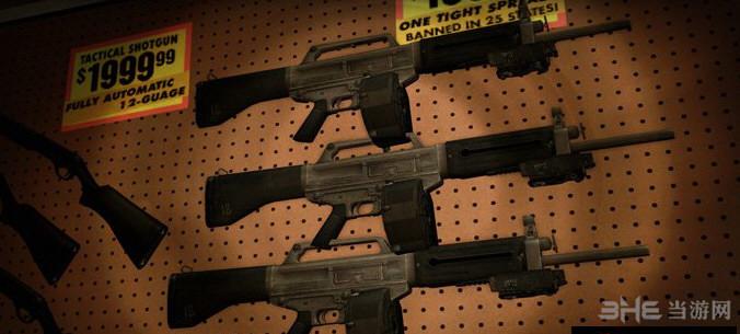 求生之路2 USAS12散弹枪MOD截图1