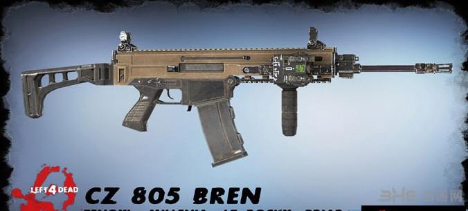 求生之路2 CZ 805 bren突击步枪MOD截图0