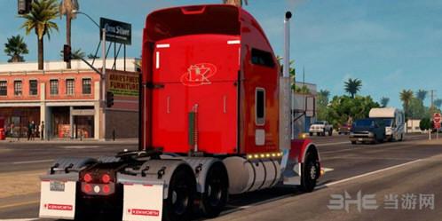 美国卡车模拟肯沃斯T800车头MOD截图0