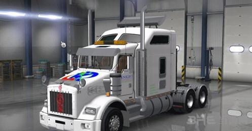 美国卡车模拟肯沃斯T800车头MOD截图1