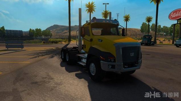美国卡车模拟CT660 CAT RTA车头MOD截图1