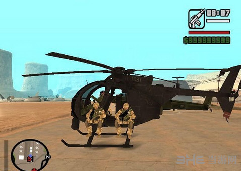 侠盗猎车手圣安地列斯小鸟直升机MOD截图1