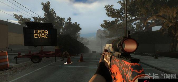 求生之路2虎蛾SG553突击步枪MOD截图0