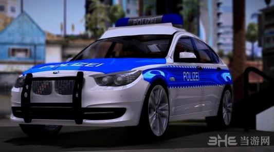 侠盗猎车手圣安地列斯宝马5系GT警车MOD截图0