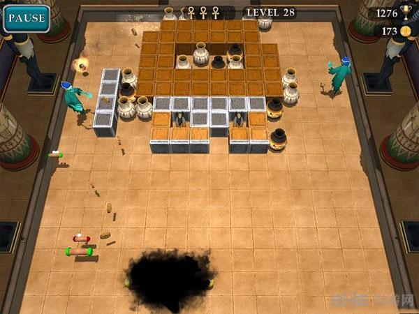 埃及砖块:逃离古墓截图0