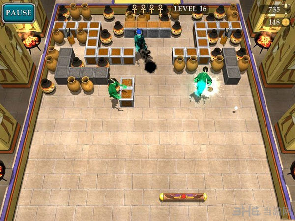 埃及砖块:逃离古墓截图1