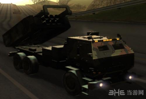 侠盗猎车手圣安地列斯导弹发射车MOD截图0