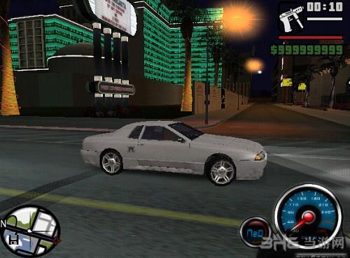 侠盗猎车手圣安地列斯卡丁车速度表MOD截图0