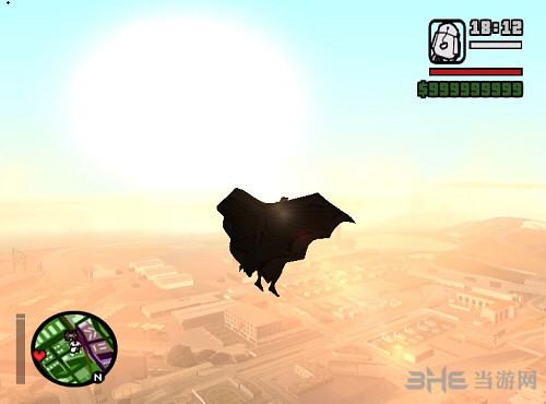 侠盗猎车手圣安地列斯蝙蝠侠披风MOD截图0