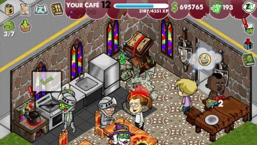 僵尸咖啡厅电脑版截图3