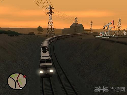 侠盗猎车手圣安地列斯火车加长MOD截图0