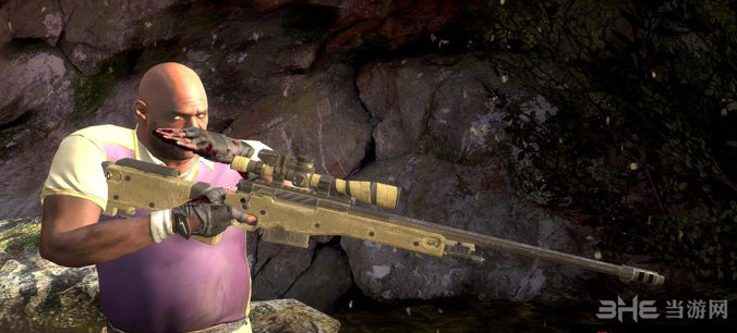 求生之路2使命召唤L115A3狙击枪MOD截图2