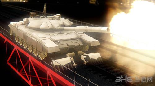 侠盗猎车手圣安地列斯T90坦克MOD截图0