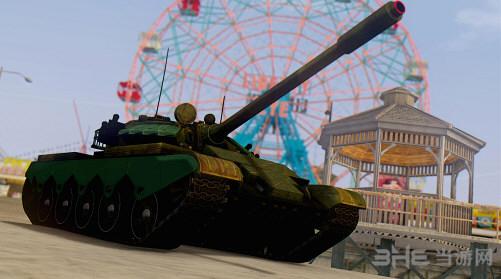侠盗猎车手圣安地列斯59D式坦克MOD截图0