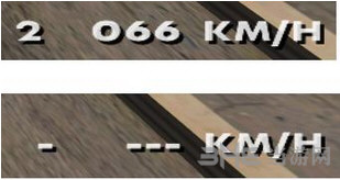 侠盗猎车手圣安地列斯纯数字速度表MOD截图0