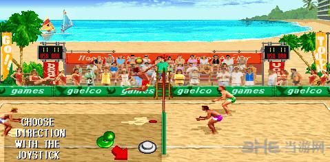 性感沙滩街机排球赛截图4