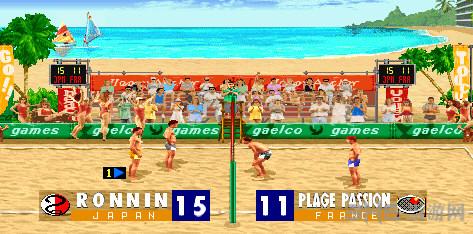 性感沙滩街机排球赛截图1