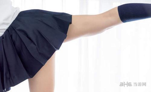 日本少女大腿写真福利图5