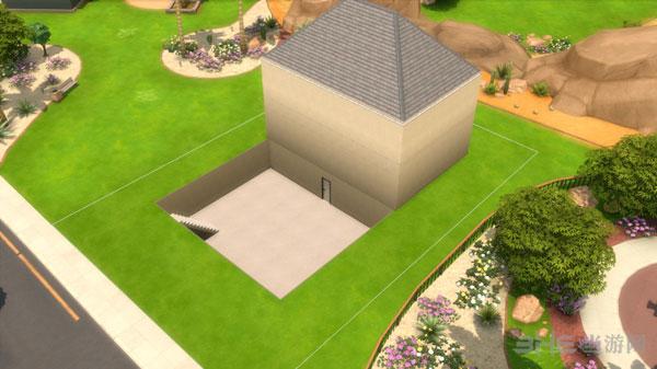 模拟人生4地下庭院建造方法8